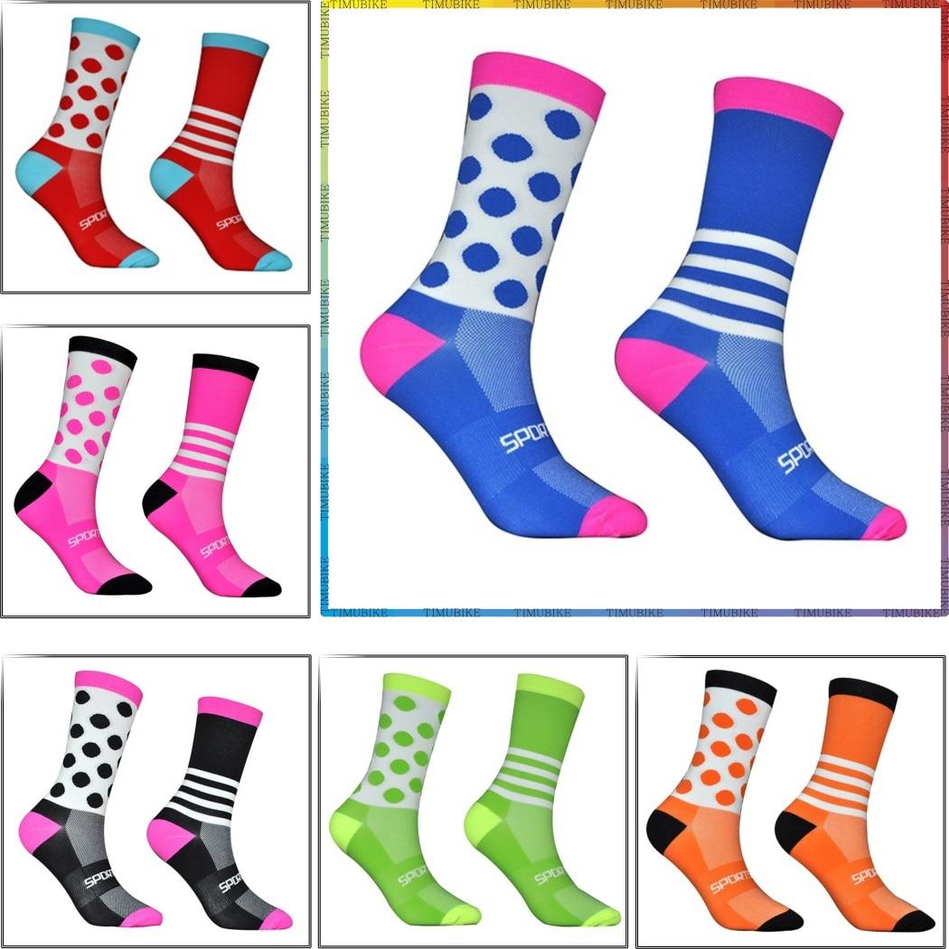 Men Women Cycling Socks Professional MTB Bike Socks High Quality Outdoor Sports Sock Running Socks Basketball Socks