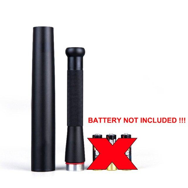 Outdoor Emergency Personal Defense Supplies Self Defense Baseball Bat Led Flashlight Stick 4
