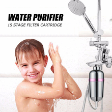 Bathroom Shower Filter Bathing Water Filter Purifier Water Treatment Health Softener Chlorine Removal Free Shipping