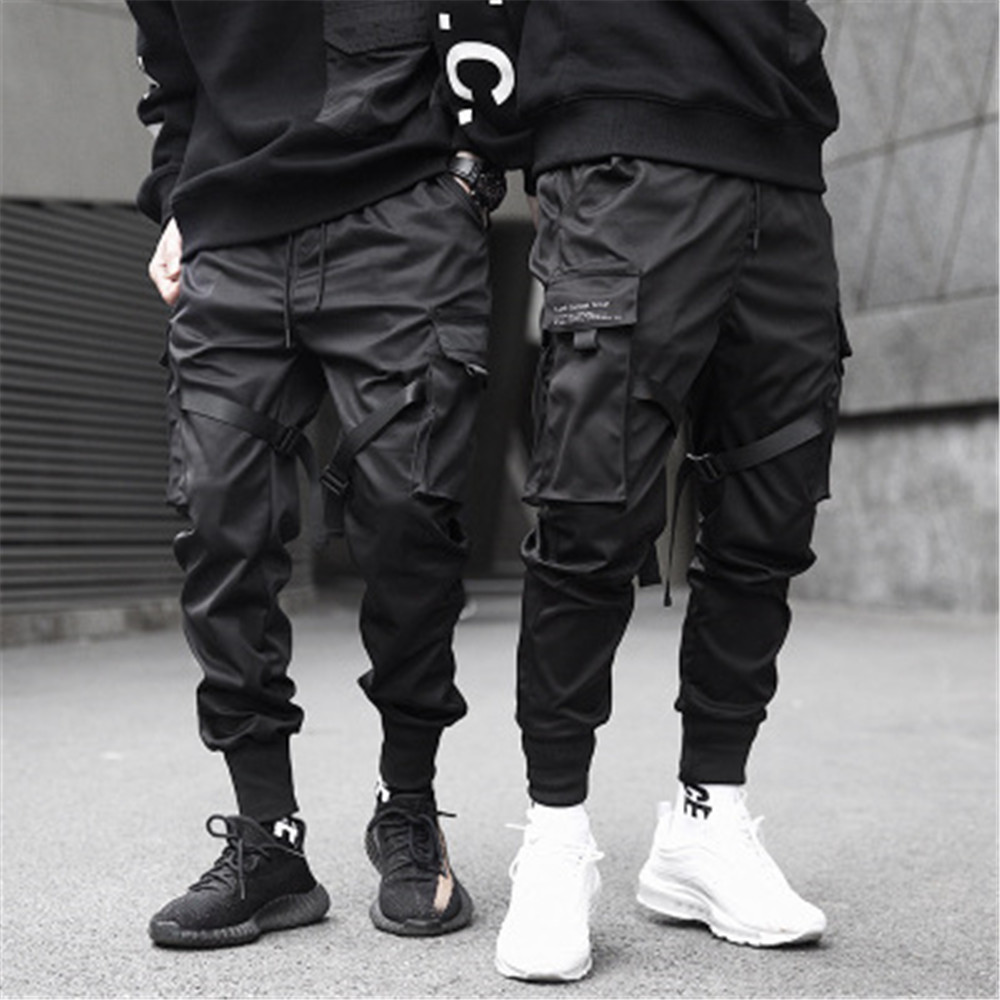Men Clothes 2018 Joggers Pants Black Trousers Sweat Pants Streetwear Dance Sports Sweatpants Casual Drawstring Hip Hop Pants