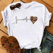 Женская футболка с графическим принтом футболки коротким рукавом