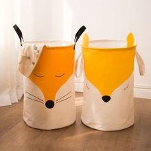Новая детская корзина для хранения игрушек большая детской одежды