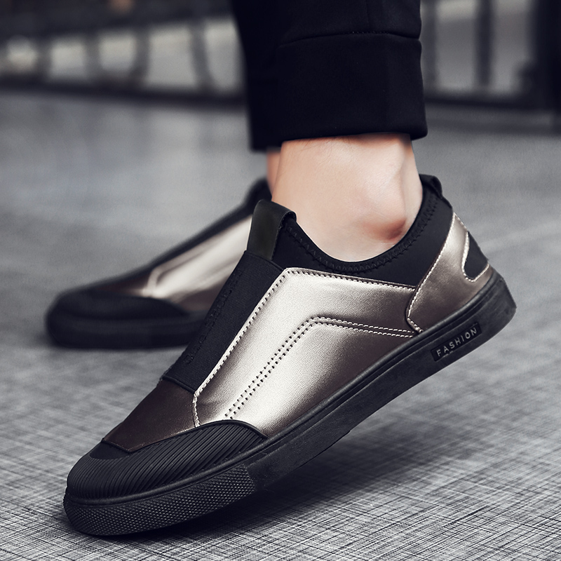 Men Casual Shoes Light Leather Sneakers 2020 New Autumn Comfort Spring Outdoor Breathable Hard-Wearing Casual Flats Shoes Men