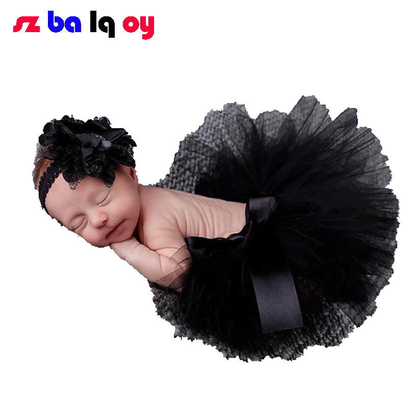 The Girl, New Photography Clothing For Baby Tutu Skirt Tutu Skirt Headband Style Newborn Photography Suit