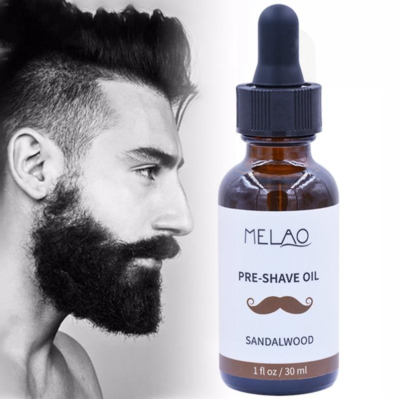 Beard Care Oil Nourishing Soft Beard Antibacterial Anti-Static Pre Shave Oil Beard Essential Oil 30ml