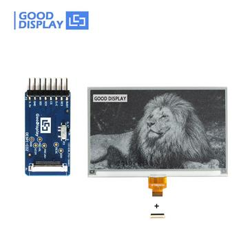 7.5 inch e-ink display with 800x480 resolution and a connection board DESPI-C02