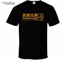 2019 Hot Sales Novelty O-Neck Tops Bruce LEE T-Shirt Martial Artist Greatest Jeet Kune Do Wing Chun Dragon Art Tee Shirt Design jeet kune do book with dvd teaching for learning bruce lee s kung fu martial art
