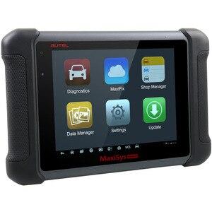 Image 2 - AUTEL MaxiSYS MS906BT outil de Diagnostic de voiture OBD2 système complet DPF ECU codage Scanner antidémarrage ABS Tests spéciaux Bluetooth DS708