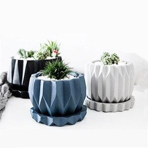 Большой Силиконовый горшок, форма для изготовления бетонных плантаторов, DIY Инструменты для изготовления вазы, формы из полимерной глины