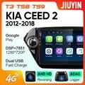 JIUYIN для Kia EIO2 2012-2018 автомобильный Радио Мультимедиа Видео плеер навигация GPS Android No 2din 2 din
