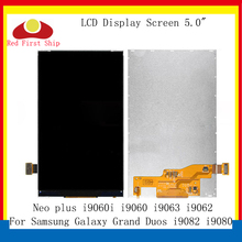 10Pcs/lot For Samsung Galaxy GRAND NEO i9060 i9062 i9063 LCD Display Screen Monitor Module i9082 i9080 i9060i LCD Replacement new 100% test touch screen digitizer assembly replacement for samsung galaxy grand neo plus i9060i i9060 black with free tools