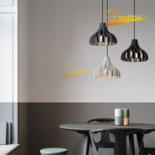 Modern LED Resin Pendant Lamp Nordic Creative Indoor Minimalist Pendant Lights Loft Bedroom Dining Room Living Room Hanging Lamp creative modern round led pendant lights adjustable height hanging lamp dining room restaurant living room pendant lamp fixtures