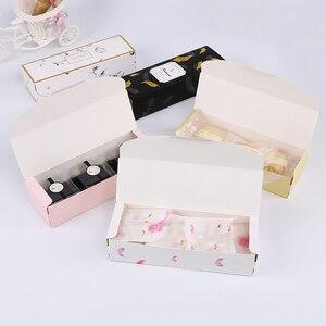 Image 5 - LBSISI Đời 5 Chiếc Kẹo Bánh Quy Bánh Nougat Hộp Giấy Cảm Ơn Bạn Giáng Sinh Vui Tay Hộp Quà Tặng