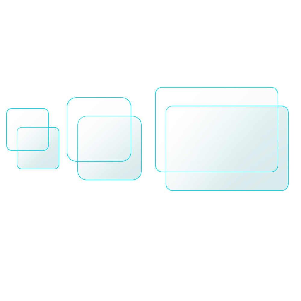 Protetor de Tela De Vidro temperado Para Filme Protetor de Tela Da Câmera Esporte Gopro Hero 8 8 6Pcs Para Gopro Camera Acessórios