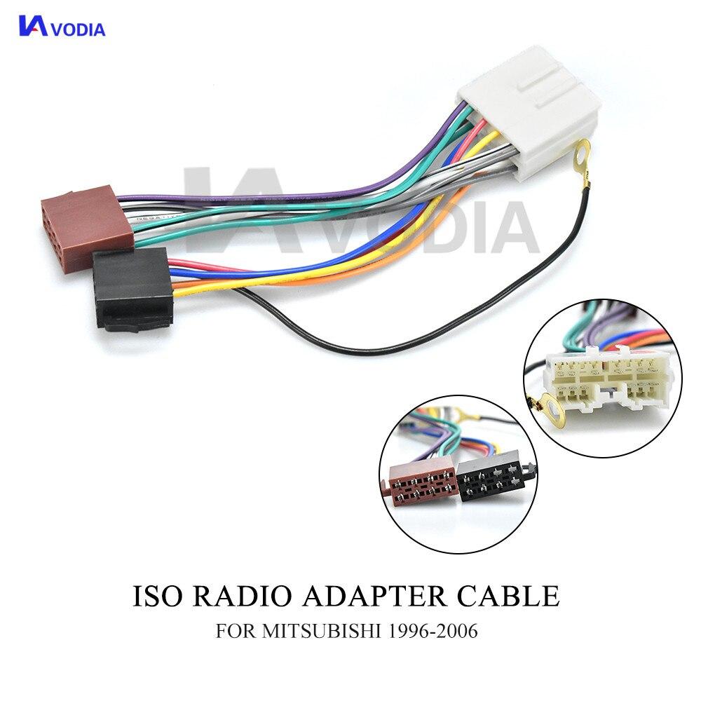 Cable de conexión ISO-set radio cable de conexión auto Adaptador Conector