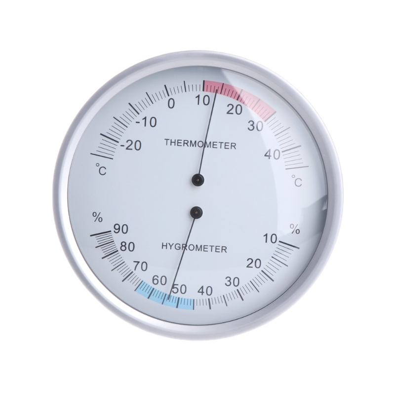 5 Inches Wall Mounted Household Thermometer Hygrometer Analog Temperature Meter