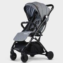 7Kg Lightweight Baby Stroller High Landscape Folding Portable Luxury Hot Mom Yoya Plus 3 Umbrella Pink Strollers