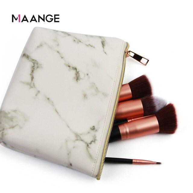 Manufacturers Direct Selling Maange Maange Marbling Cosmetic Bag Makeup Tool Portable Cosmetic Bag Cross Border Hot Sales 3