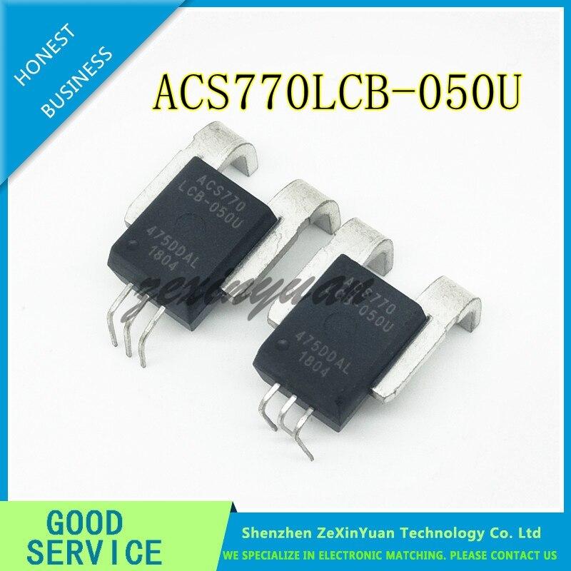 1PCS/LOT ACS770 ACS770LCB-050U ACS770LCB-50U ACS770LCB-50U-PFF-T  5-CBLeads SENSOR CURRENT HALL 50A DC