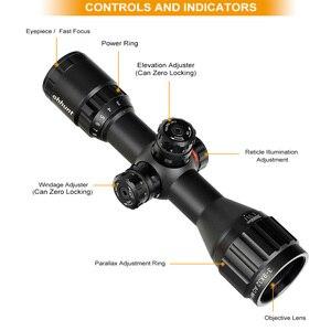 Image 2 - Ohhunt 3 9x32 AO קומפקטי ציד אופטיקה 1/2 חצי Mil דוט Reticle Riflescopes צריחי נעילת עם שמש צל טקטי רובה היקף