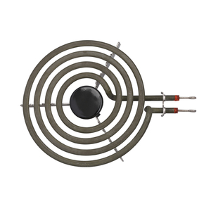 """Image 3 - 1500W 230V 6"""" Range 304 Stainless Cooktop Stove Replacement Surface Burner 4 Rings Pancake Coil Shape Heater Tube with Tripod"""