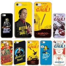 Melhor chamada saul temporada 2 cartaz de tv caso saco macio para iphone ipod touch 11 12 pro 4 4S 5 5S se 5c 6s 7 8 x xr xs mais max 2020