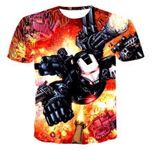 2021Summer Leisure 2020 New Style 3D Printed Short Sleeves Male T-shirt Fashion Top Streetwear T shirts