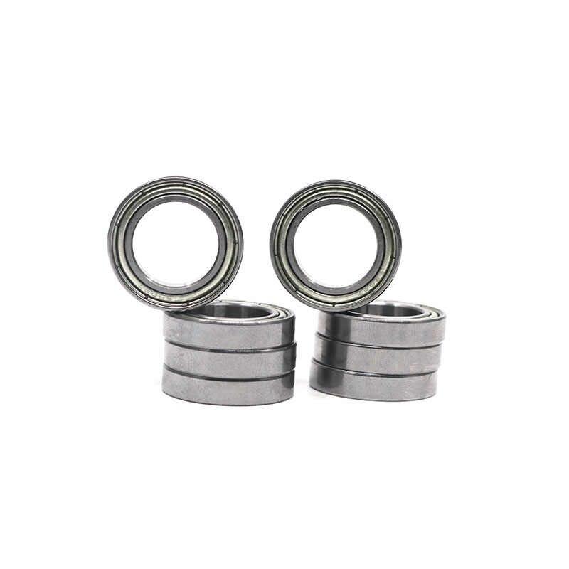 15x24x5mm 5 x 6802ZZ Carbon Steel Metal Shielded Deep Groove Ball Bearings