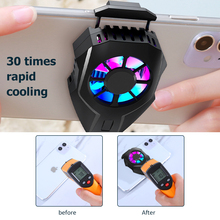 Mobile Phone Cooler Semiconductor Cooling Fan For iOS Android All Smart Phone Radiator PUBG Gaming Heat Sink Holder Controller
