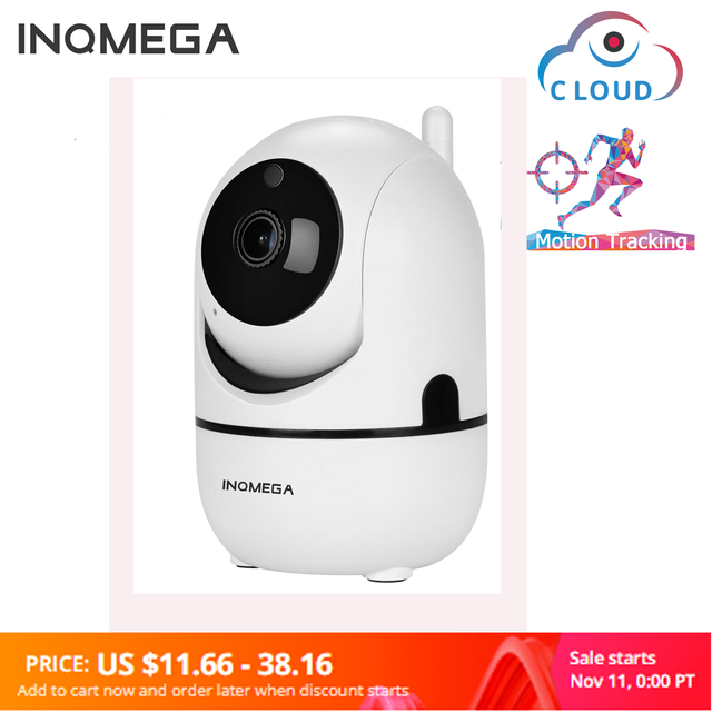 INQMEGA 1080P ענן IP אלחוטי מצלמה אינטליגנטי אוטומטי מעקב של אדם אבטחת בית מעקבים טלוויזיה במעגל סגור רשת מיני Wifi מצלמת