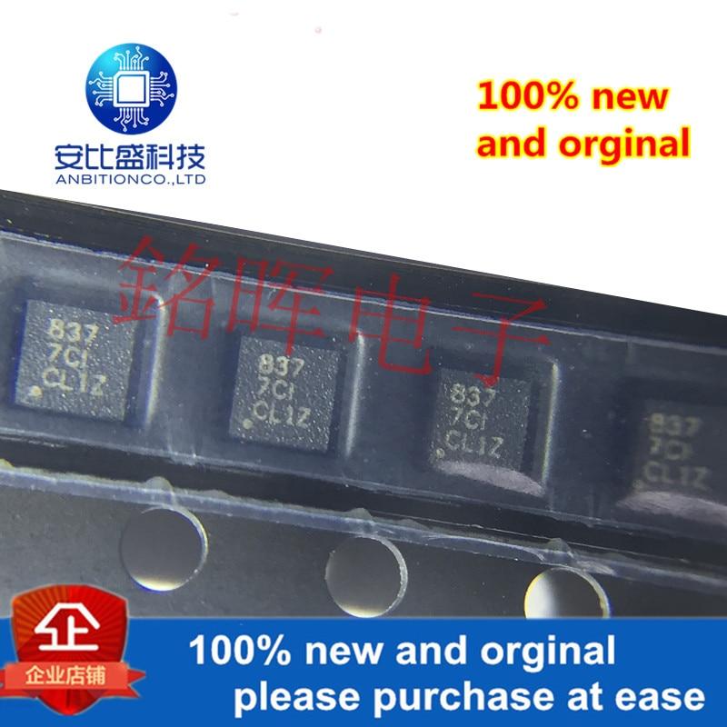 10pcs 100% New And Orginal DRV8837DSGR DRV8837 WSON8 Silk-screen 837 In Stock