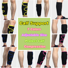Calf Compression Sleeves NeopreneCalf Support Neoprene Fitness Sport Football Running Leg Protection L497