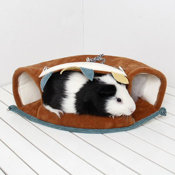 Small Pet Warm Tunnel Hammock Hanging Bed Ferret Rat Hamster Bird Squirrel Shed Cave Hut Hanging Cage Pet Birds Parrot Supplies 4