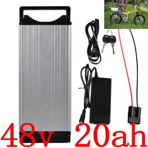 48V 1000W 1500W 2000W Lithium Battery 48V 20AH Ebike Battery 48V 20AH Electric Bike Battery use samsung/LG/panasonic cell(China)