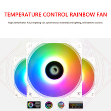 ID-COOLING3 Pin 12cm ARGB CPU Fan Silent Colorful Lighting Radiator XF-12025 Household Computer Accessories