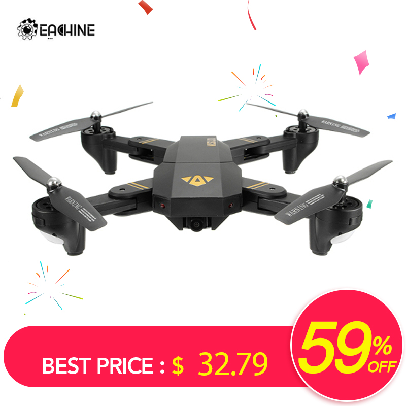 Eachine VISUO XS809HW WIFI FPV With Wide Angle HD Camera Drone High Hold Mode Foldable RTF RC Quadcopter Helicopter Toys Mode2