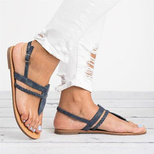 Sandals; Women's Flip Flops; Summer footwear; sandals; women's shoes with a pointed toe; flat weaving; buckle-free beach sandals peep toe flat buckle shoes bohemia flip flop beach beads sandals flat wedges shoes lovely footwear foot toes comfortable to wear
