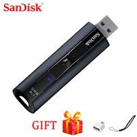 100%SanDisk Pendrive Memory Usb Stick CZ880 Extreme PRO 128GB USB 3.1 Solid State Flash Drive 256GB Pen Drive High Speed 420MB/s