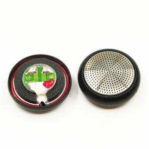 2 pçs 15.4mm 32 ohm de baixa frequência fone de ouvido alto falantes motorista com caso escudo n50 magnético plana diy para mx500