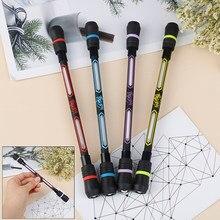 1 peças girando caneta criativo flash rotativa jogos gel canetas para estudante presente brinquedo aleatório