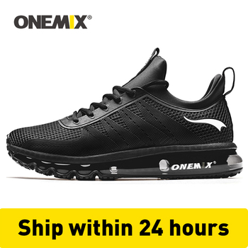 ONEMIX High Top Running Shoes For Men Shock Absorption Sport Height Increased Air Cushion Sneakers Outdoor Walking Jogging Shoes onemix 2017 new men s sports running shoes for men shock absorption mesh lightweight design comfortable air cushion shoes 1191