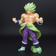 Dragon Ball Z Figurine Son goku Styling Broly Figure SS FULL POWER dragonball z Figures Collectible Model Toy(China)