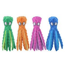 Toy Sounder Dog-Toy Tooth-Supply Octopus Chew Stuffed Plush-Squeaky Soft 8-Legs Paper
