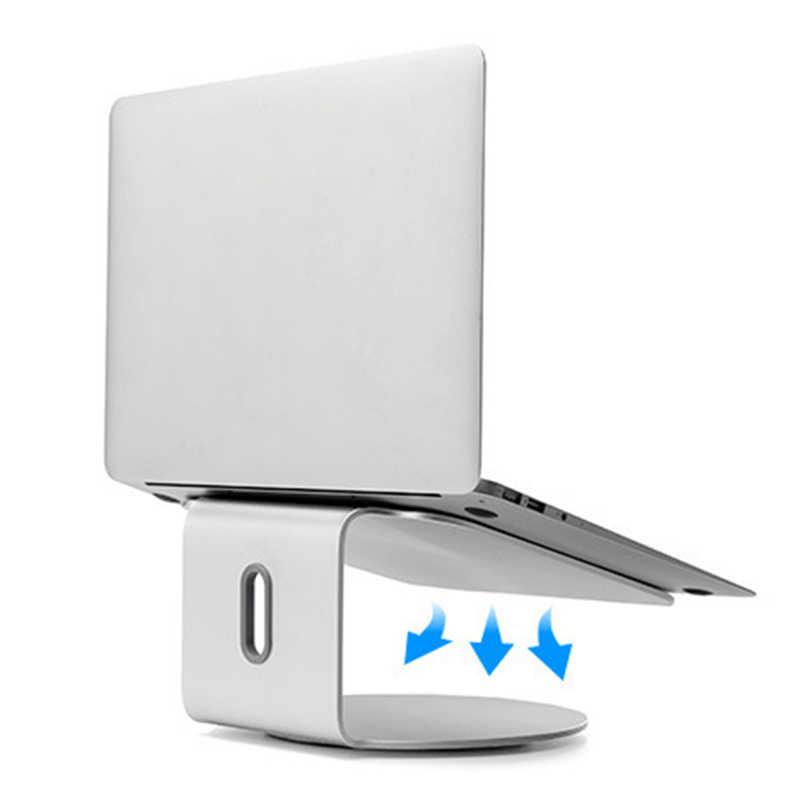 سبائك الألومنيوم حامل كمبيوتر محمول قاعدة 360 تدوير دفتر رفع التبريد دعامة حامل DU55