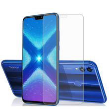 1 sztuk 2 sztuk szkło dla Huawei Honor 8a 8c 8s szkło hartowane dla Huawei Honor 8X ochraniacz ekranu dla Honor 8X 8 X folia ochronna tanie tanio felfial CN (pochodzenie) Przedni Film For Huawei Honor 8 8X Ultrathin 0 26 mm Corrugated boxes Tempered Glass For Huawei Honor 8