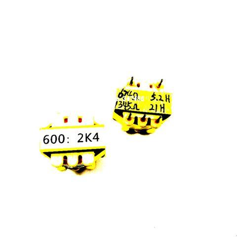 transformador audio 600600do isolamento de permalloy transformador