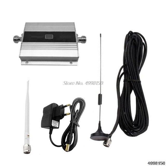 900MHz GSM 2G/3G/4G Booster Repeater Amplifierเสาอากาศสำหรับโทรศัพท์มือถือDropship