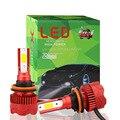 2 шт. Автомобильный светодиодный головной светильник H1 H3 H4 H7 H8 H11 9005 9006 60 Вт 12000LM Авто противотуманных фар с возможностью креативного светильн...