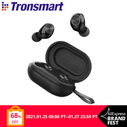 Tronsmart Spunky Beat App Edition TWS Earphone Wireless Bluetooth Earbuds with QualcommChip,AptX, CVC 8.0, Touch Control