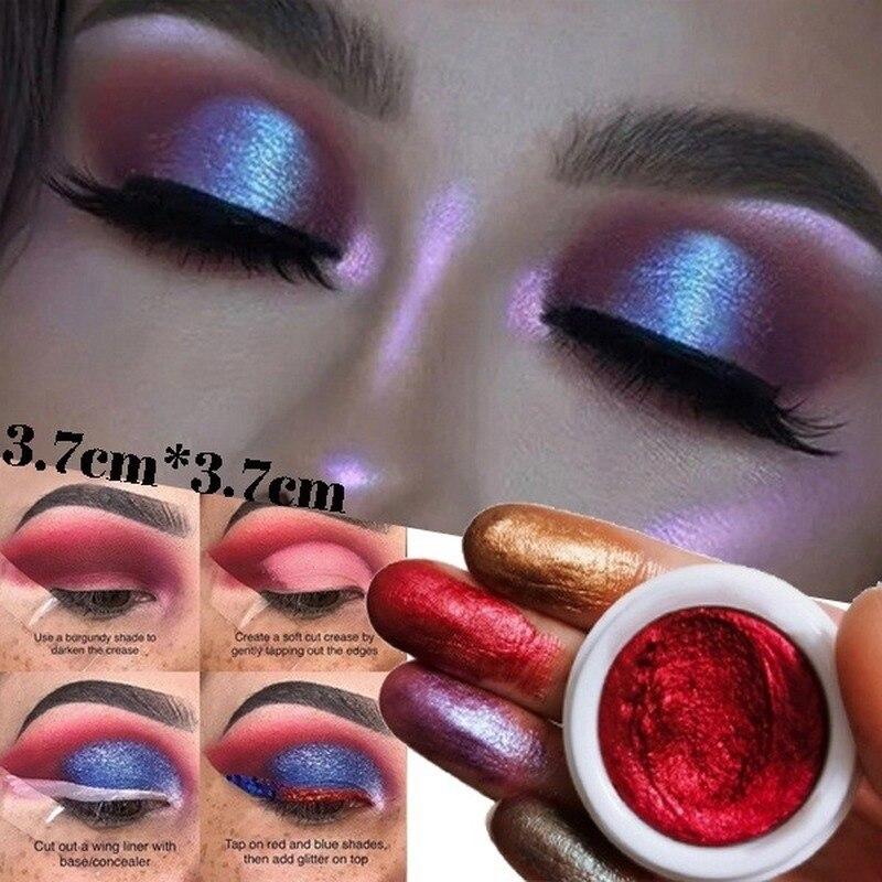 12 Colors Mixed Colors Powder Pigment Glitter Mineral Spangle Eyeshadow Makeup Cosmetics Set Make Up Shimmer Shining Eye Shadow